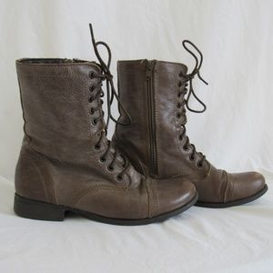 Steve Madden TROOPA Lether Boots Women's 8.5